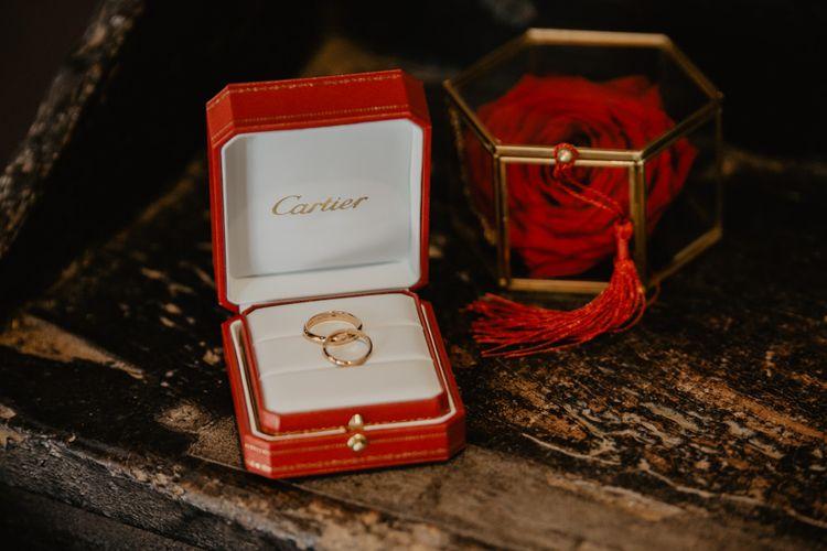 Cartier wedding jewellery