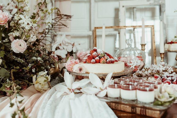 Delicious Dessert Table | Classical Springtime Romance Inspiration at Butley Priory by Brown Birds Weddings | Jess Soper Photography