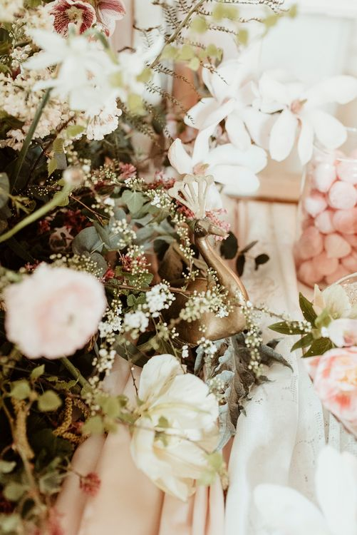 Wedding Flowers | Classical Springtime Romance Inspiration at Butley Priory by Brown Birds Weddings | Jess Soper Photography