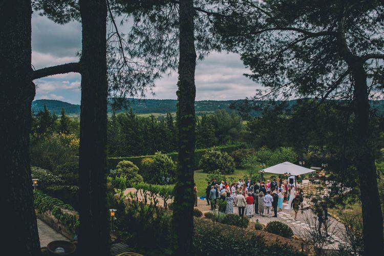 French Villa Wedding