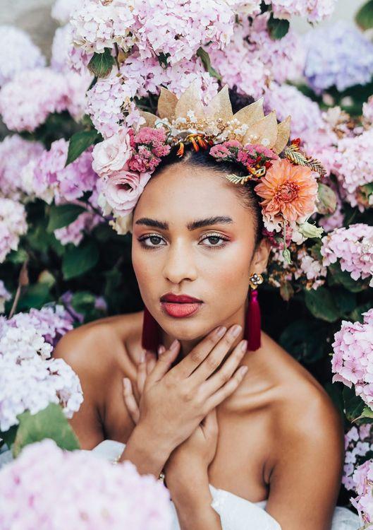 bridal makeup for black bride