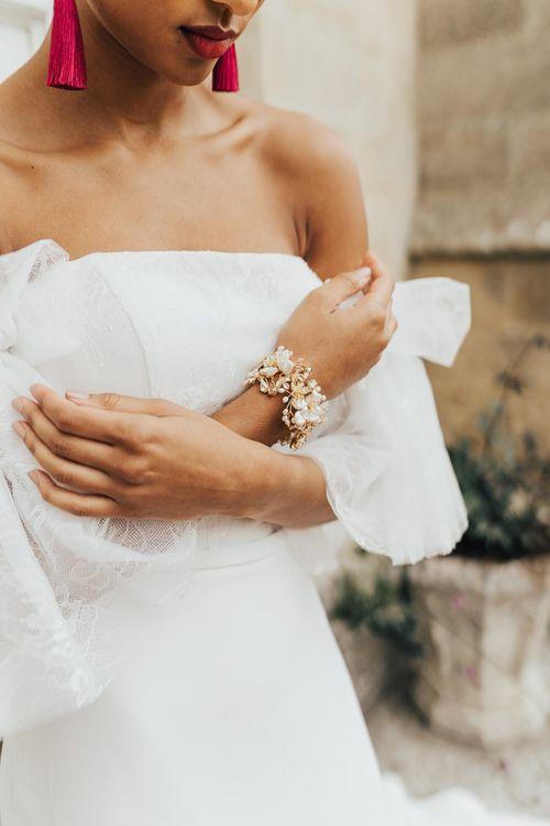 Hermione Harbutt bracelet bridal accessory
