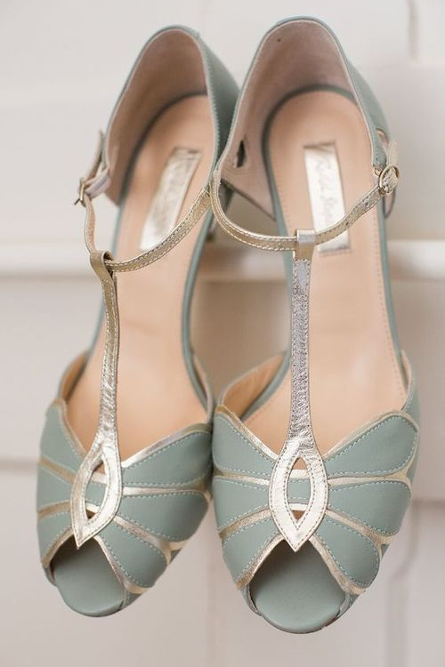 Mint Green Bridal Shoes by Rachel Simpson | Sage Green Wedding Shoes | Sara Dalrymple Photography | At Home, DIY, Tipi Wedding | Eliza Jane Howell Lucille Gown for Pregnant Bride | Rachel Simpson Shoes | Cad & The Dandy Suit