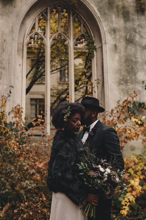 St Dunstan in the East Autumn wedding photography