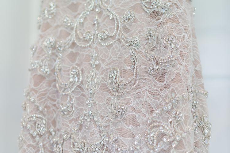 Beaded Watters Bridal Gown via Blush Bridal