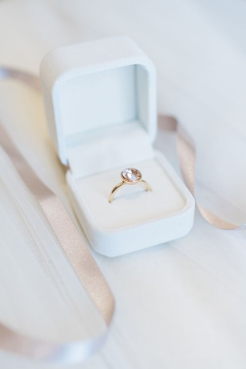 Engagement Ring in Ring Box