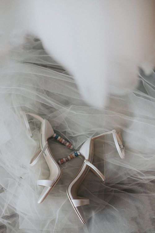 Sophie Webster Wedding Shoes with Coloured Heels