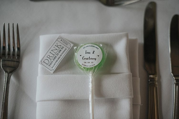 Holly's Lollies Wedding Favours