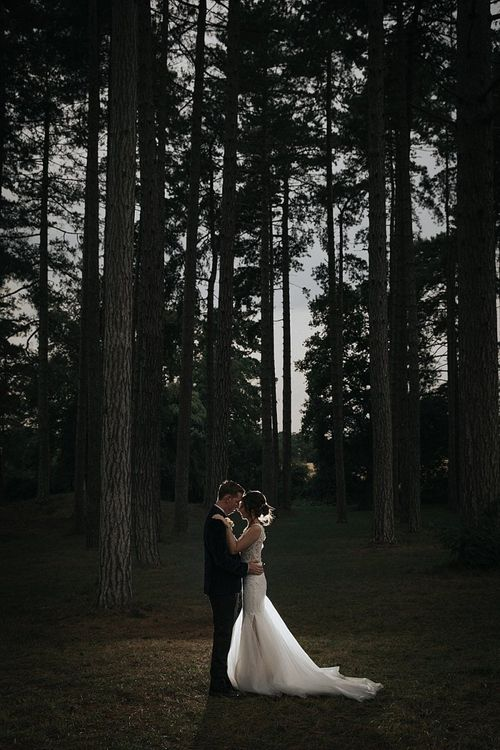 Sunset Photoshoot for Bride and Groom