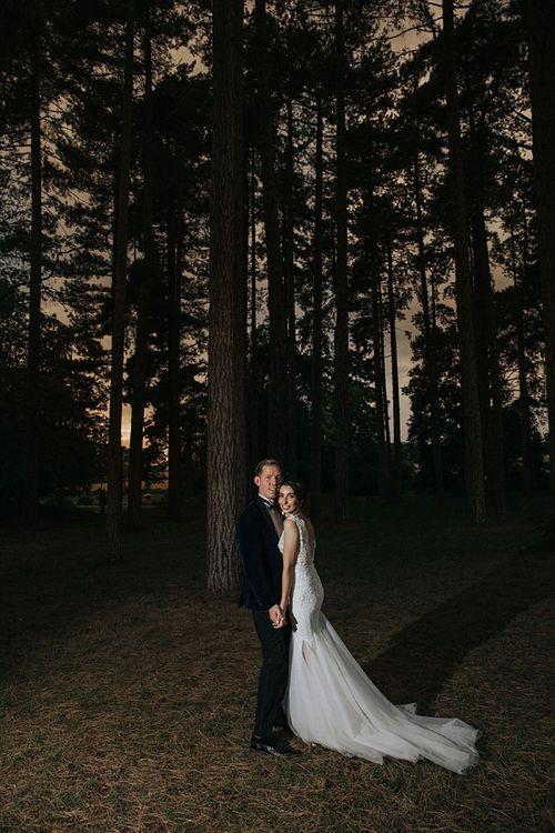 Sunset Photoshoot In Woods