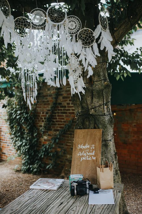 Macrame And Dream Catcher DIY Photo Booth