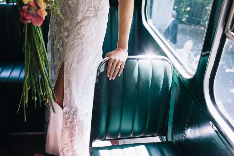 London Bus Wedding Transport // Images By Robbins Photographic