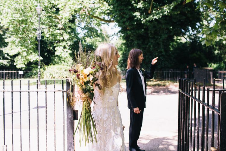 Bride In Hermione De Paula // Images From Robbins Photographic