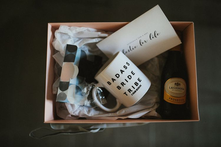 Bride Box For Wedding Morning // Image By James Frost Photography