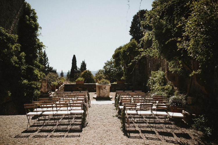 Tuscan Castle Destination Wedding In Italy // Image By James Frost Photography