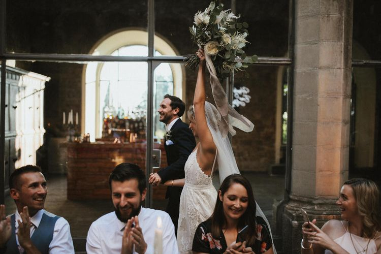 Tuscan Castle Destination Wedding In Italy // Images From James Frost Photography