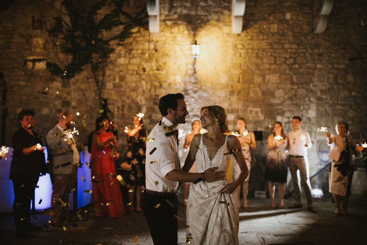 First Dance At Wedding // Image By James Frost Photography