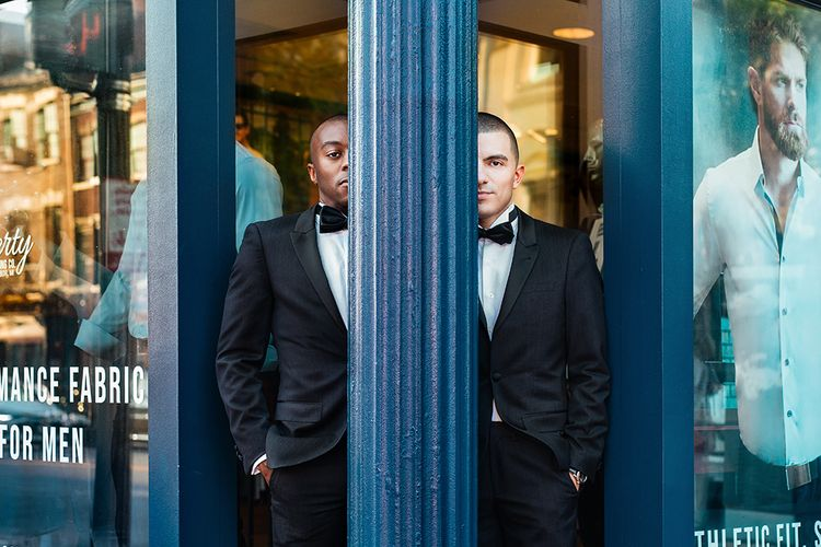 Washington D.C. Engagement Shoot For Two Grooms