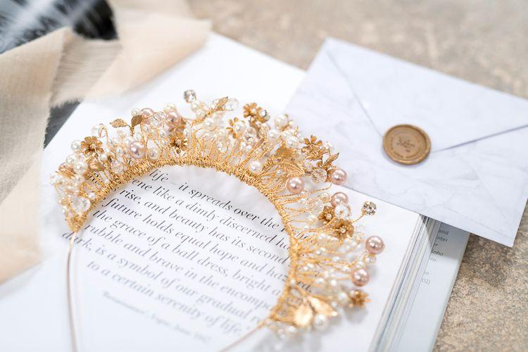 Statement Gold Headdress