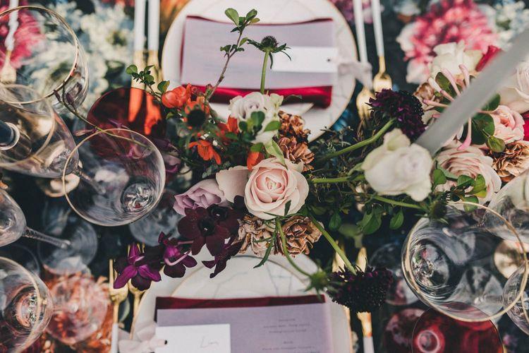 Floral Table Centrepiece