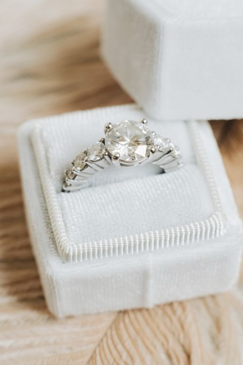 Diamond Engagement Ring | Glamorous, Roaring Twenties, Great Gatsby Inspired Wedding at Villa Borromeo  in Italy | Matrimoni all'Italiana Photography