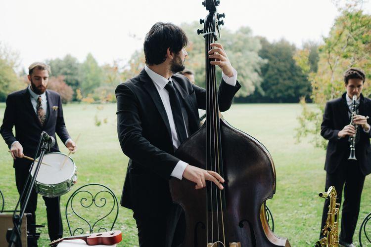 Wedding Music | Glamorous, Roaring Twenties, Great Gatsby Inspired Wedding at Villa Borromeo  in Italy | Matrimoni all'Italiana Photography