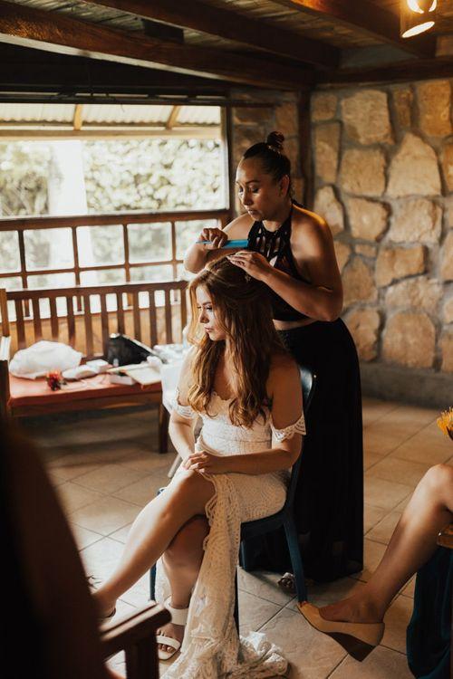 Bridal Beauty Wedding Preparations
