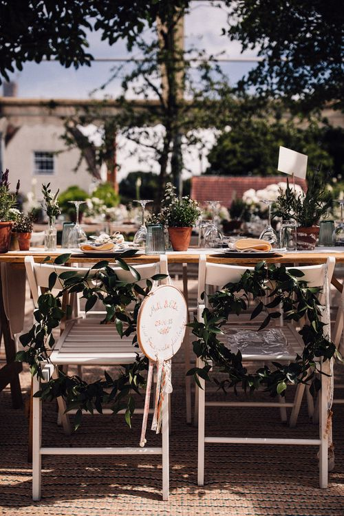 Clear Span Marquee For A Summer Wedding // Image By Samuel Docker Photography