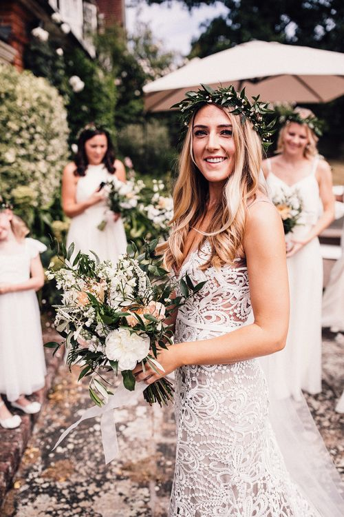 Bride In 'Sasha' By Made With Love Bridal // Image By Samuel Docker Photography