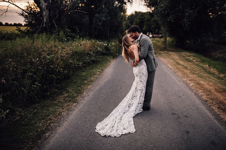 Bride In 'Sasha' By Made With Love Bridal From Heart // Image By Samuel Docker Photography
