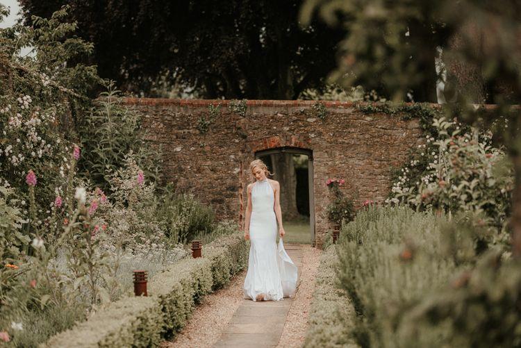 Stella McCartney Wedding Dress At Somerset Wedding Venue
