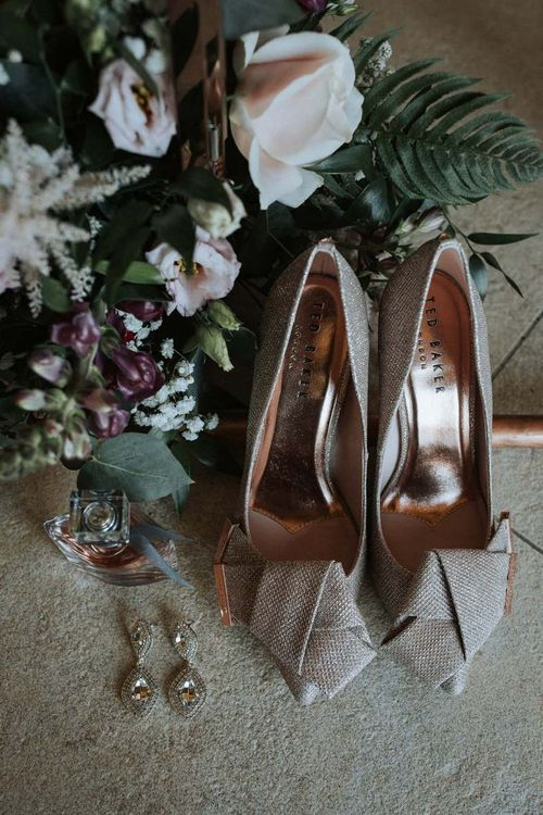 Ted Baker sparkly shoes