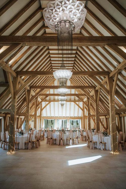 Wedding reception at The Old Kent Barn