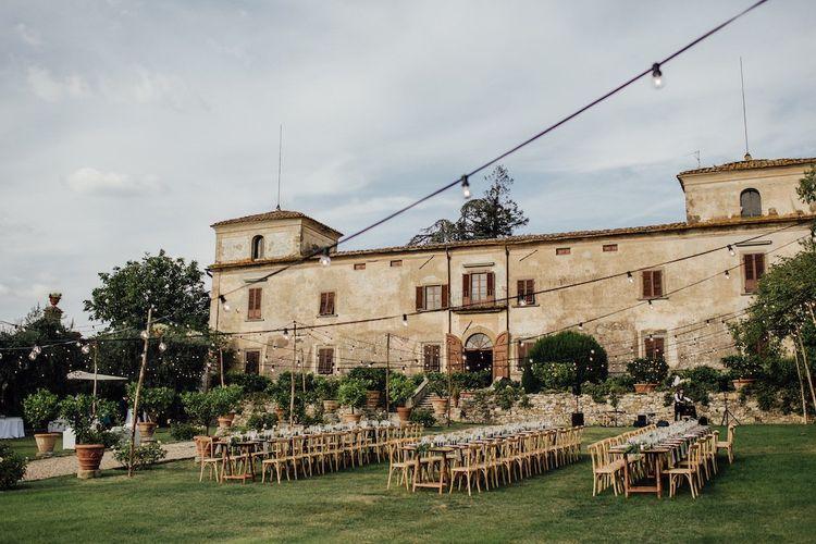 Villa Medicea di Lilliano Wedding Venue