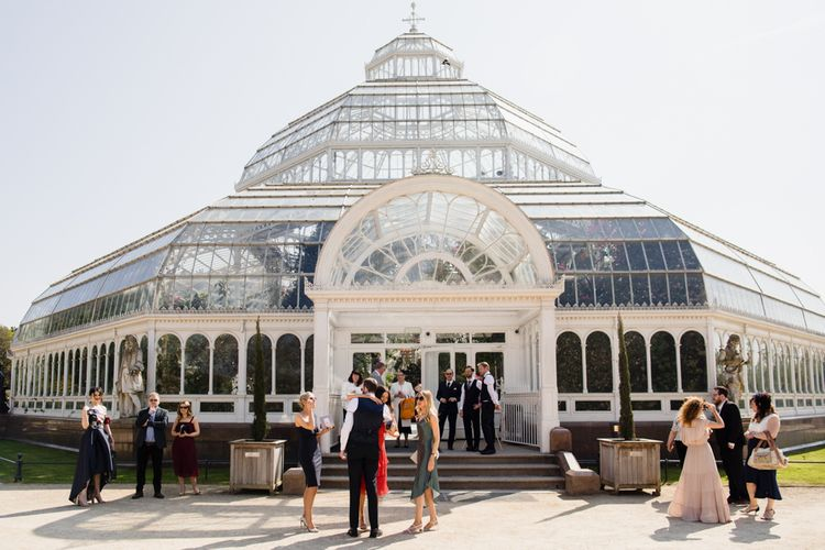Glass house wedding venue in Liverpool