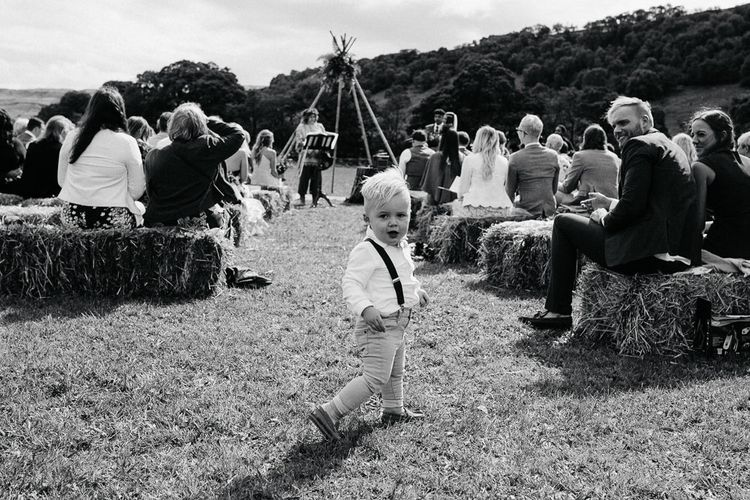 Brightly Coloured Festival Wedding with Outdoor Humanist Ceremony & Tipi Reception on the Yorkshire Dales   Tim Dunk Photography