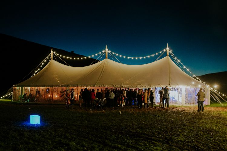 Evening Reception   Brightly Coloured Festival Wedding with Outdoor Humanist Ceremony & Tipi Reception on the Yorkshire Dales   Tim Dunk Photography