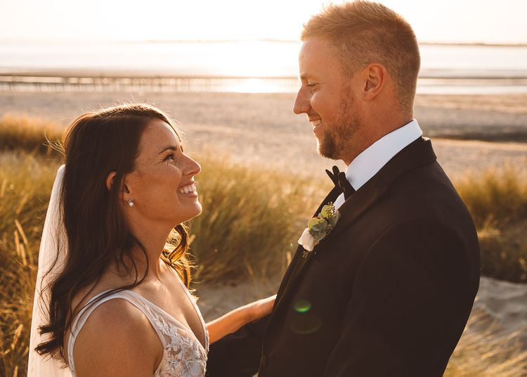 Bride and groom tie the knot at Crouchers Orchards for intimate wedding