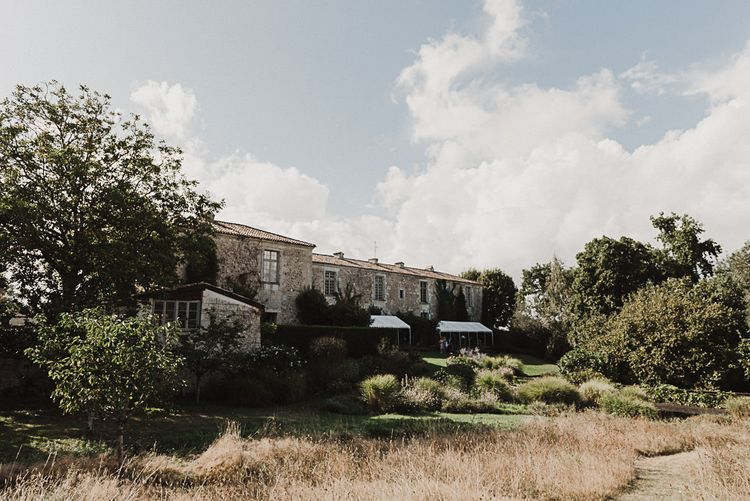 Chateau Rigaud | Bordeaux, France | Harvey Vintage Dress | Bridesmaids in ASOS | Florals by Flowers in The Vines
