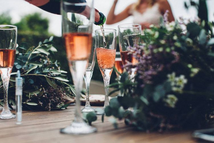 Wedding Drinks | Outdoor Destination Wedding at Le Peit Hameau Wedding Venue Provence, South of France Planned by By Mademoiselle | Lovestruck Photography