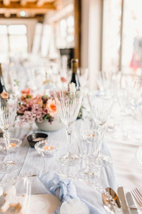 Wedding table decor