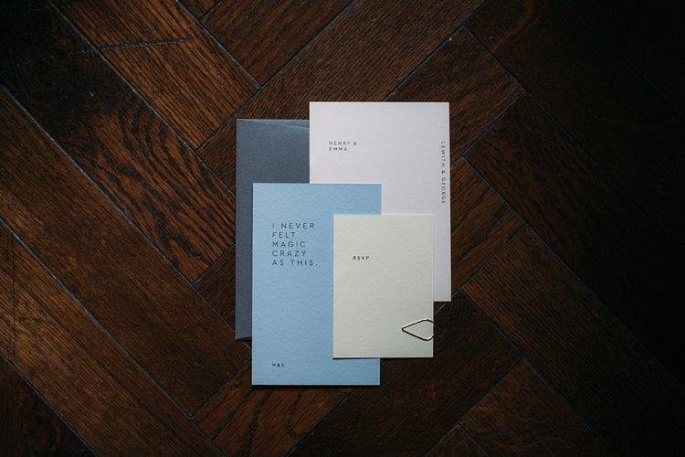 Contemporary Wedding Stationery Suite