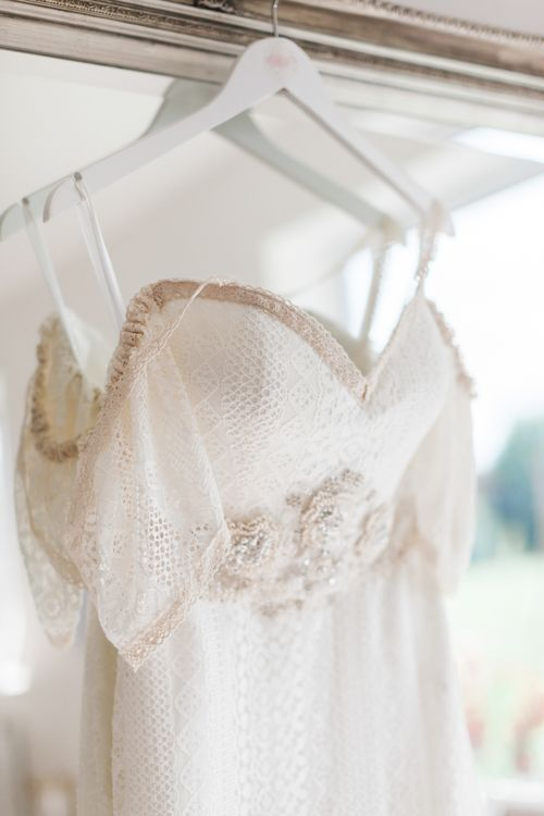 Bespoke Felicity Cooper Bridal Gown | Pink ASOS Bridesmaid Dresses | Pink & White At Home Marquee Wedding by Pretty Creative Styling | Jo Bradbury Photography