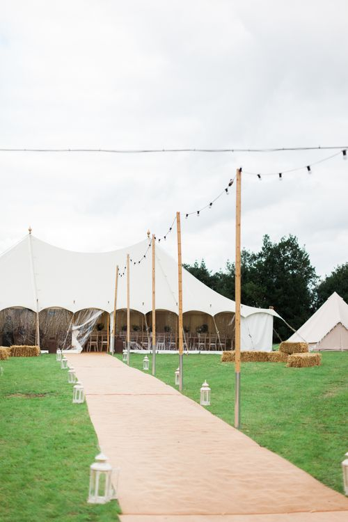 Pink & White At Home Marquee Wedding by Pretty Creative Styling | Jo Bradbury Photography