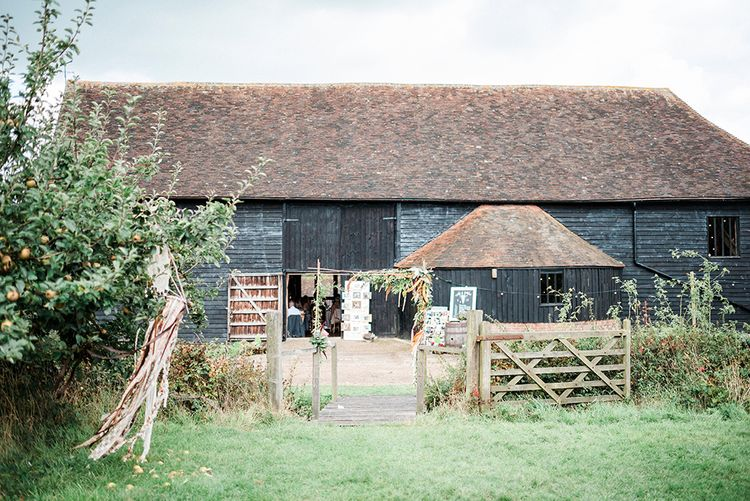 The Great Barn Essex // Macrame Ceremony Backdrop Rustic Hippie Wedding The Great Barn Dream Catchers And Oversized Florals Bride In Essence Of Australia Images Kathryn Hopkins