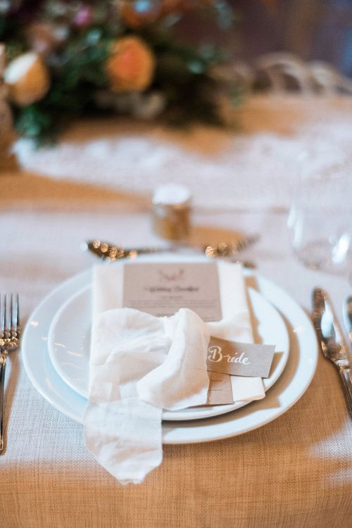 Place Setting For Wedding // Macrame Ceremony Backdrop Rustic Hippie Wedding The Great Barn Dream Catchers And Oversized Florals Bride In Essence Of Australia Images Kathryn Hopkins