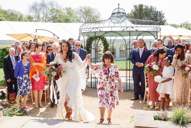 Kimono Sleeve Wedding Dress By Rue De Seine Bohemian Wedding At The Walled Garden Nottingham Images From Rose Images Wedding Photography