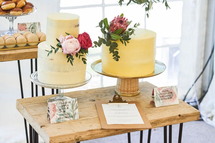 Buttercream Iced Wedding Cakes By Elle Jane