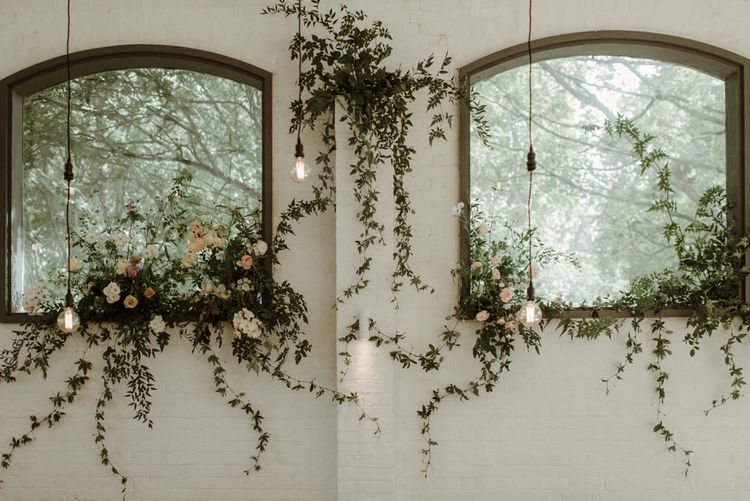 Floral Installations 2019 Wedding Trends