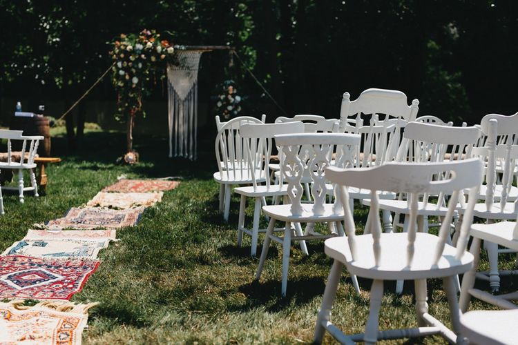 Outdoor Wedding Ceremony // Image By Jason Williams Photography
